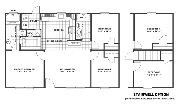 Index on single wide mobile home floor plans 14 x 40