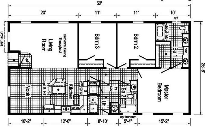 Commodore Homes From Agl Homes Mobile Homes Ny Double Wide Single Wide And Modular Homes New York Western Central Ny