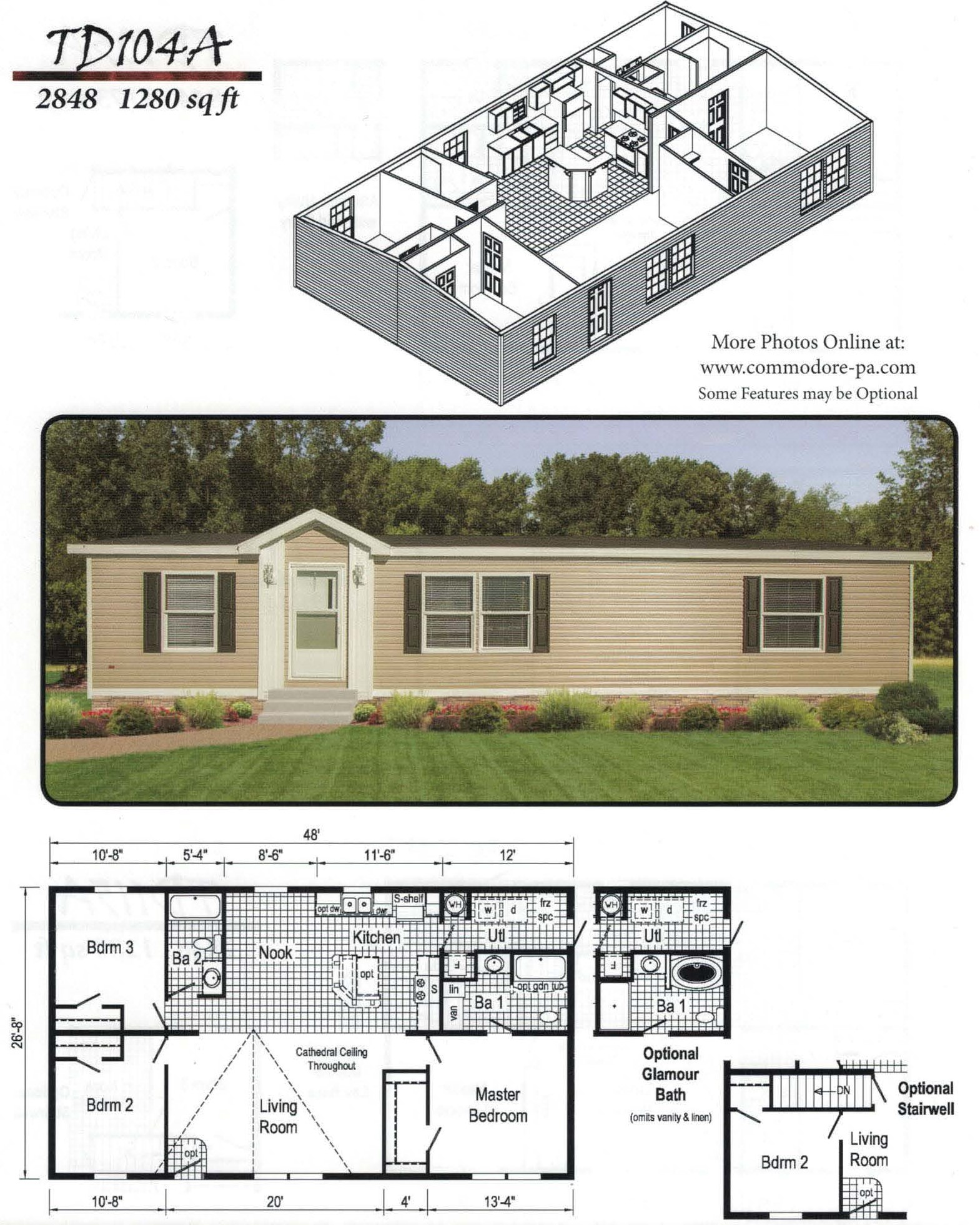 Commodore Homes from AGL Homes  Mobile Homes, NY, Double-wide