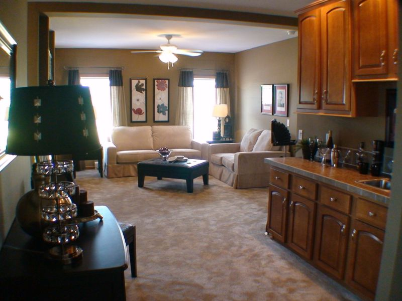 ... Titan 768 Wet Bar To Family Room