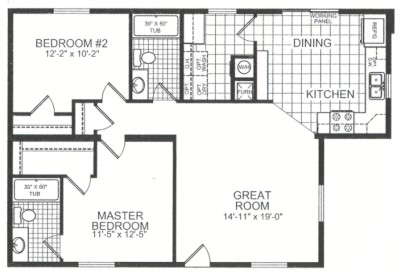 436427020115128759 in addition Double Wide Mobile Homes moreover Planpricing further Manor Series together with Plan For 23 Feet By 45 Feet Plot  Plot Size 115Square Yards  Plan Code 1456. on 28 x 40 floor plans